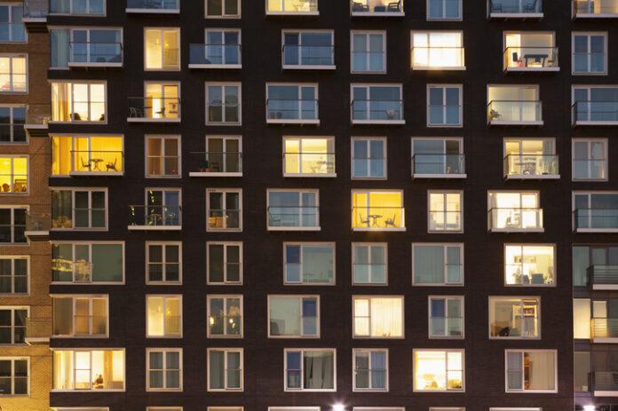 Georgia apartment building