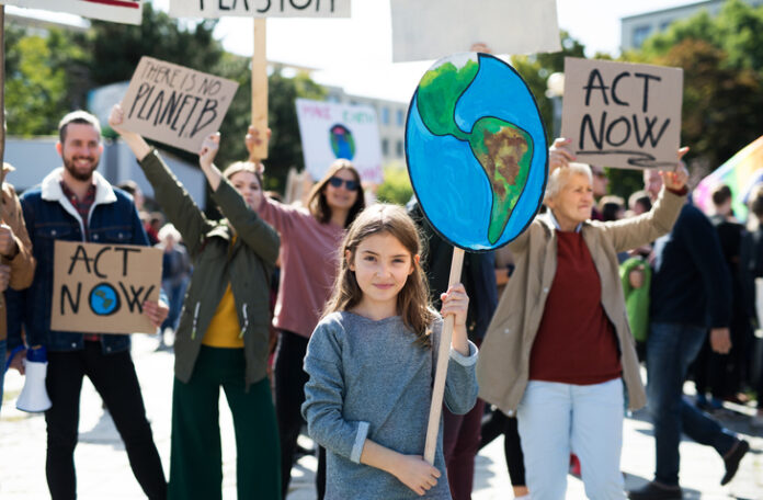 youth climate protest