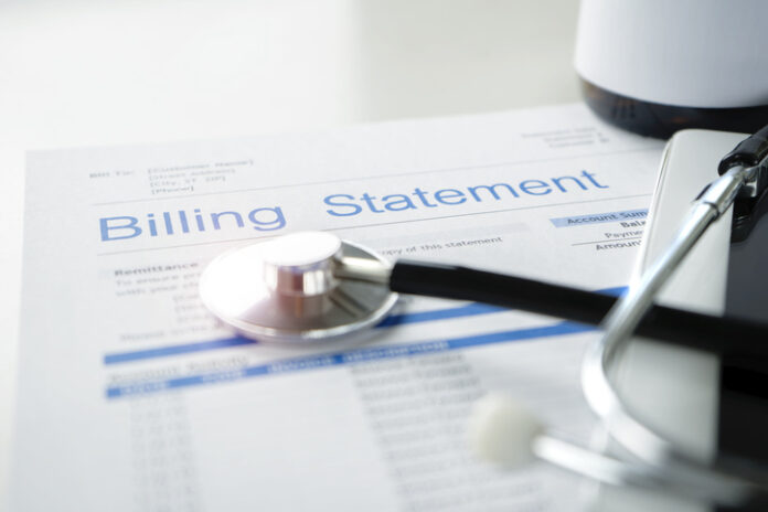Hospitals billing statement