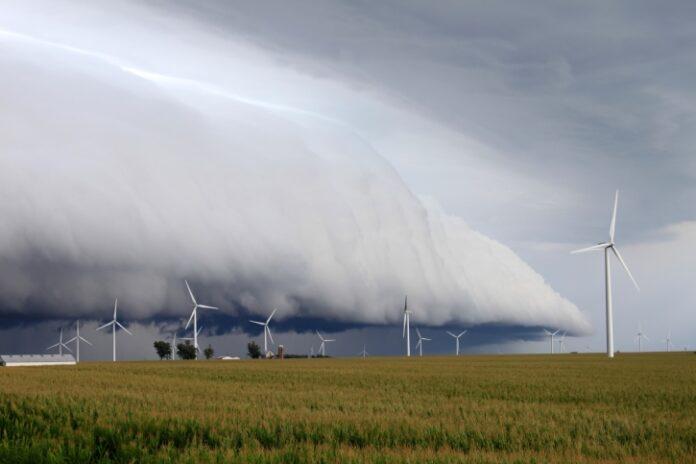 Shelf cloud - Vermont