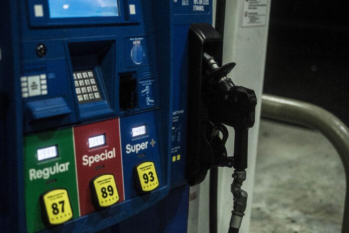 gas pump in Missouri