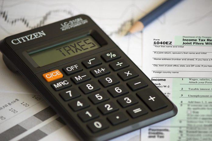 Oklahoma Taxes - Calculator Image