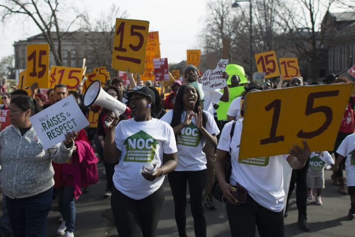 March for a $15/hour minimum wage