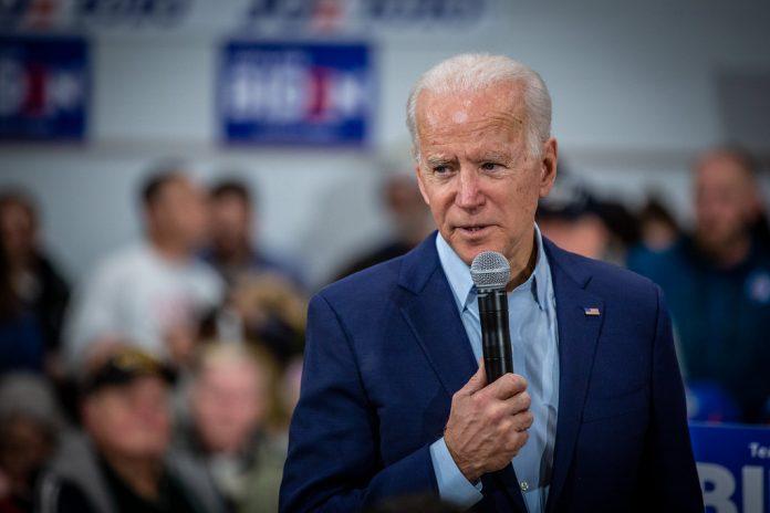 Joe Biden at McKinley Elementary School, reopening schools