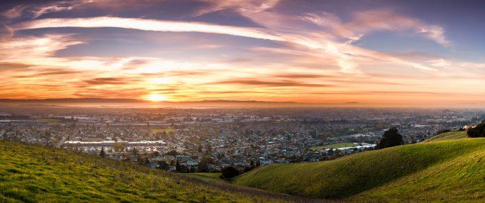 California aerial view