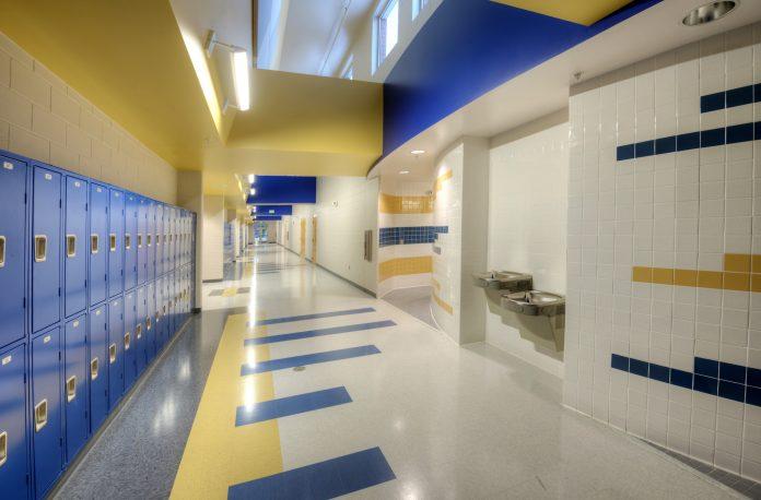 Florida High School interior
