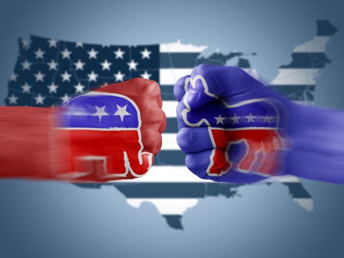 Republicans GOP x Democrats