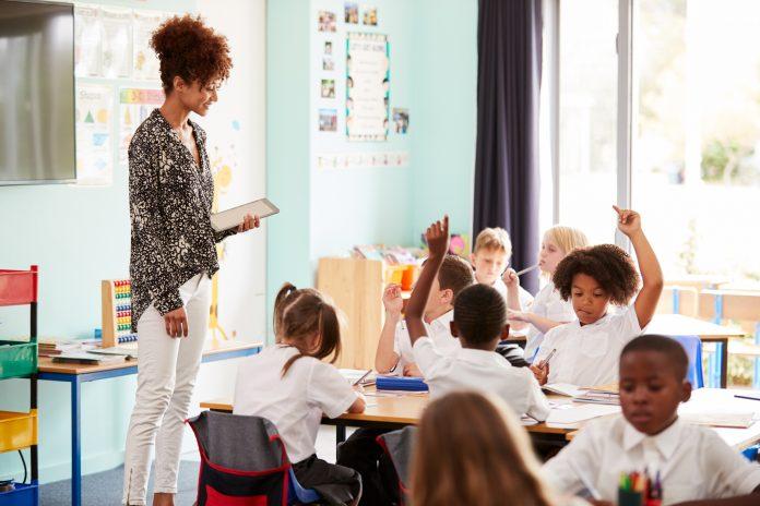 private school classroom