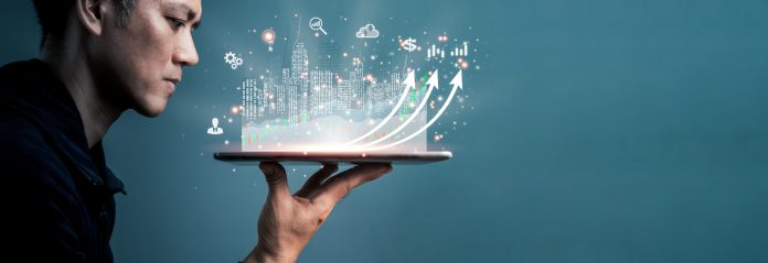 The concept is investing in cities using online technology.